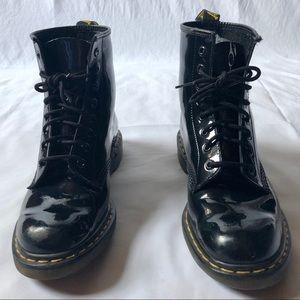 Black Patent Leather Dr. Marten's